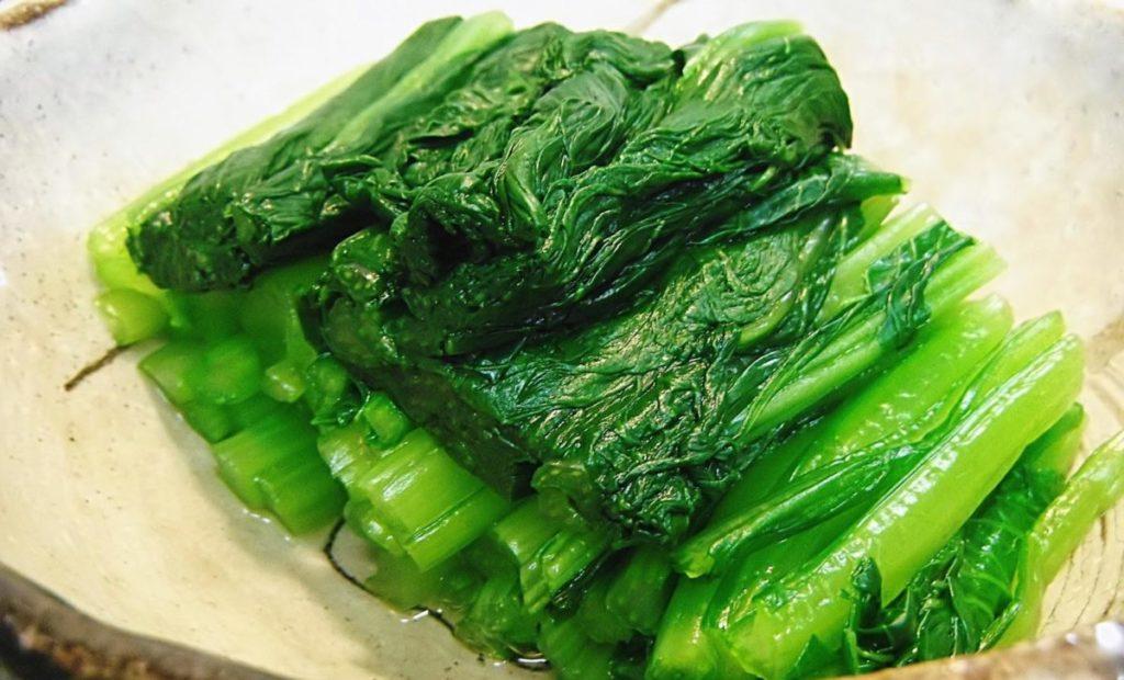 小松菜を茹でる場合の調理のポイント