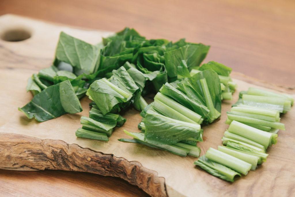 小松菜は生食もおすすめ