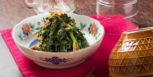 春菊は消化に良い野菜
