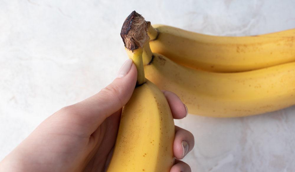 気軽にバナナを冷凍したら変色しちゃった!を防ぐ超簡単な方法