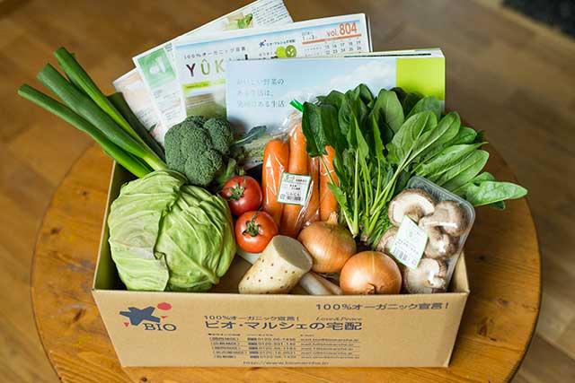 ビオ・マルシェ「有機野菜のお試しセット」