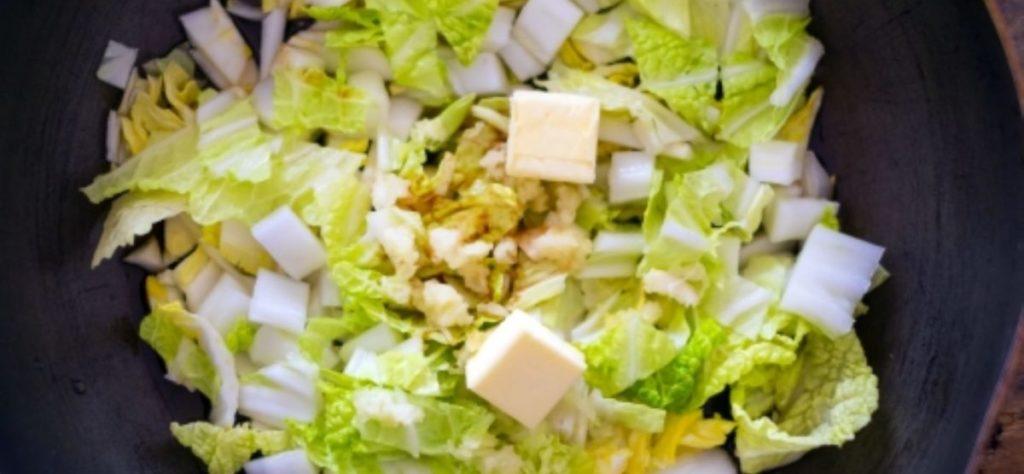 白菜の栄養成分と調理方法
