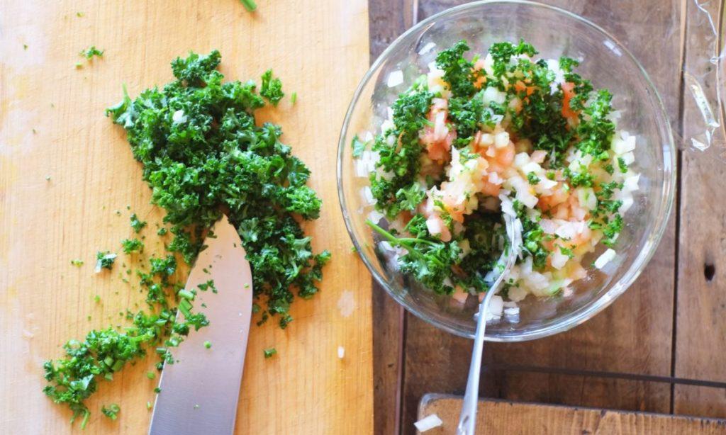 パセリをおいしく食べる簡単レシピ