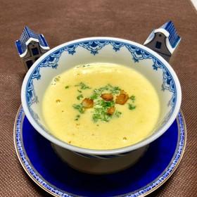 パセリの茎を使ったスープ