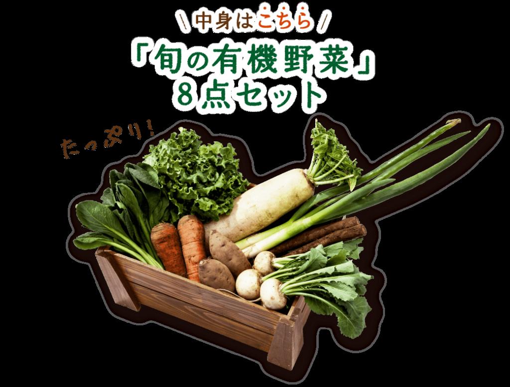 パルシステム「有機野菜お試しセット」