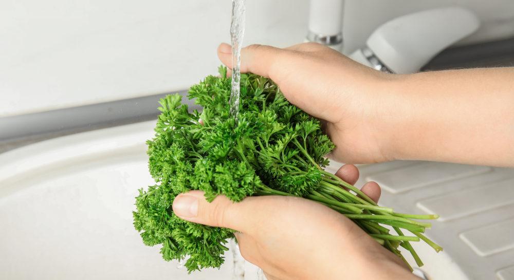 パセリについている農薬の洗い方