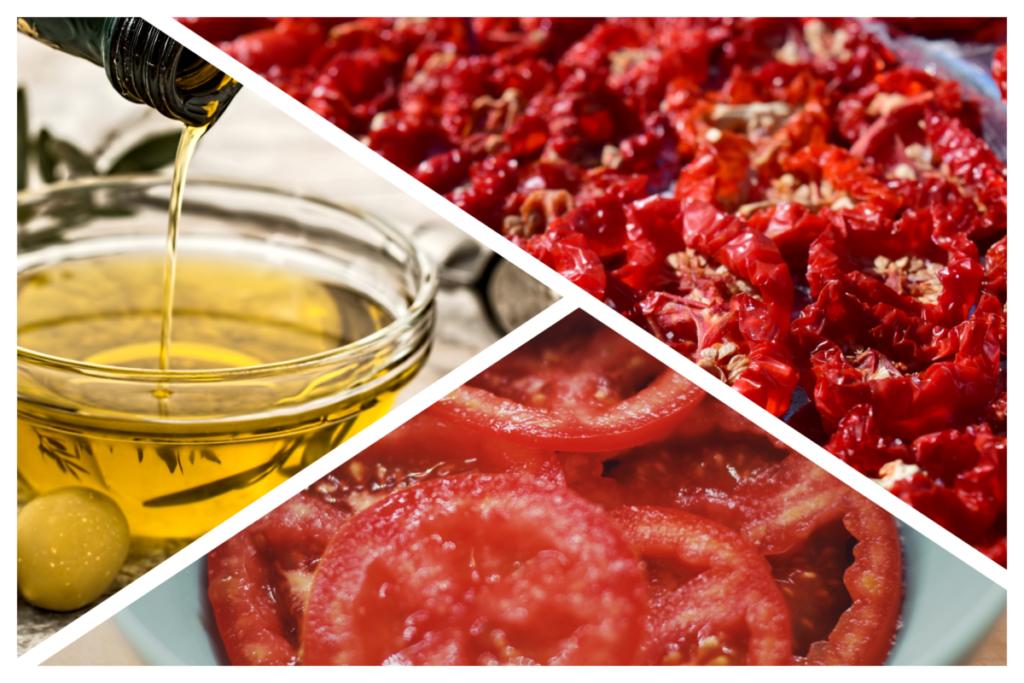 トマトを保存食に加工してから保存する