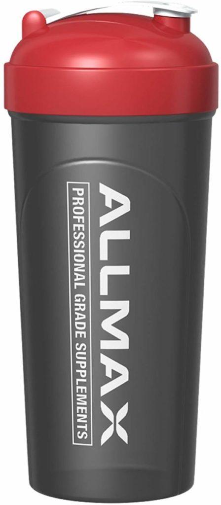 ALLMAX Nutrition ボルテックスミキサー付き漏れ防止シェーカーボトル