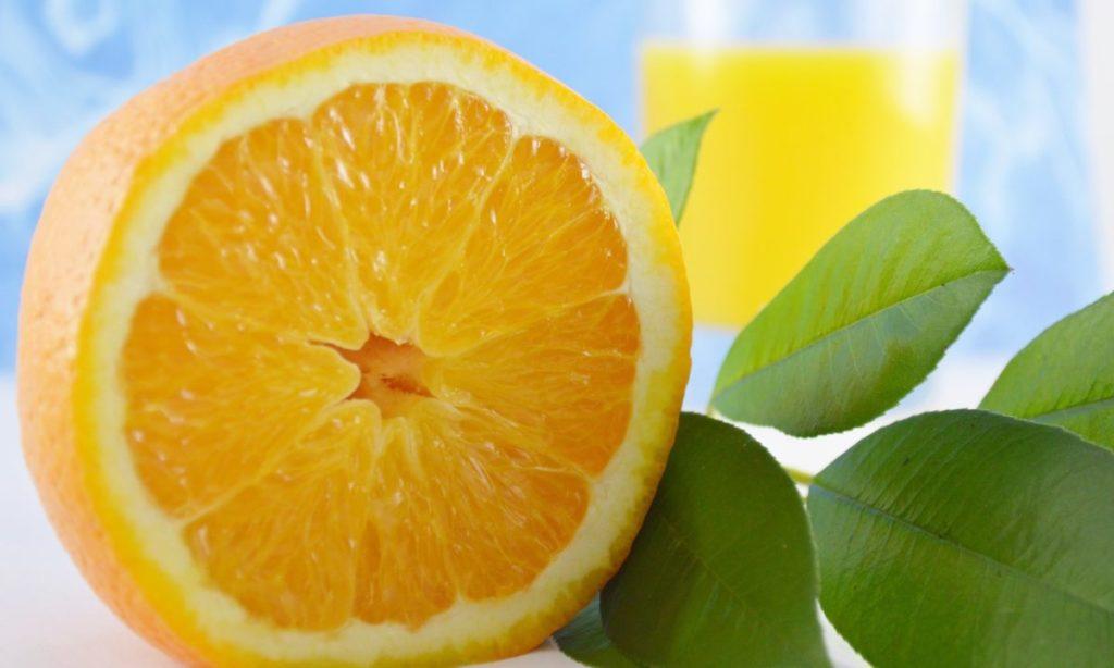 オレンジは糖質・カロリーが低い