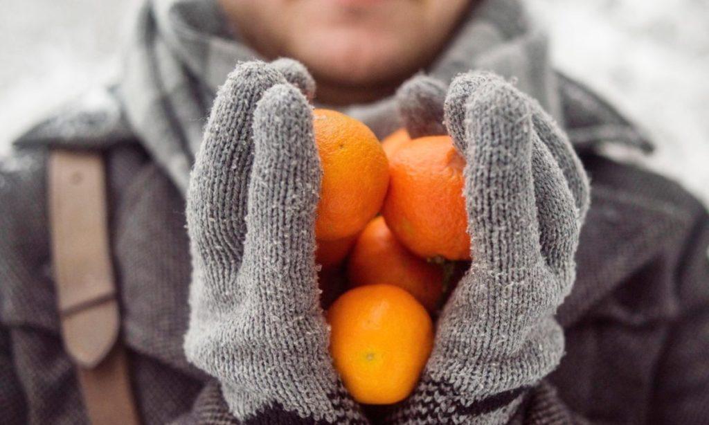 オレンジを冷凍保存するやり方