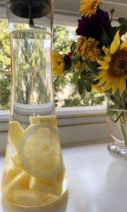 夏バテ予防に・パイナップル水