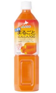 にんじんジュース(JAふらの まるごとにんじん100 100ml)