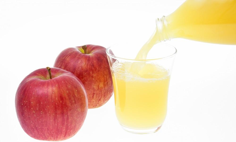 手作りりんごジュースの変色を防ぐ4つの方法!保存方法は?作り置きはできるの?