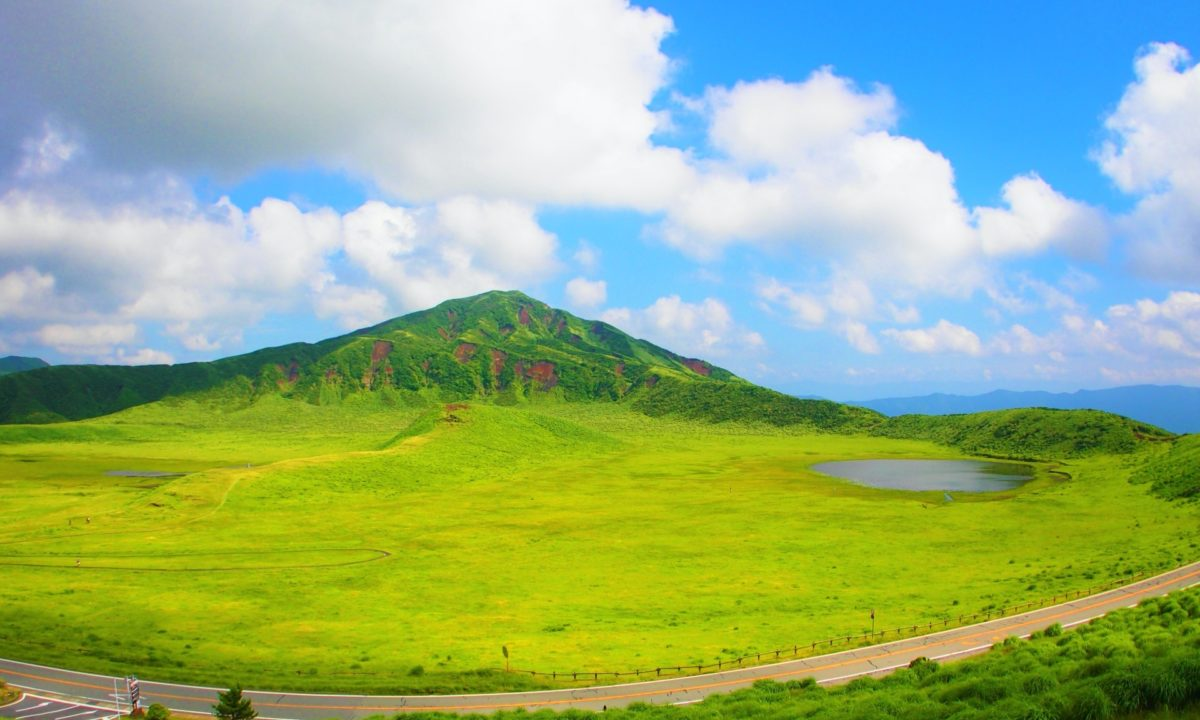 まとめ(阿蘇山の写真)