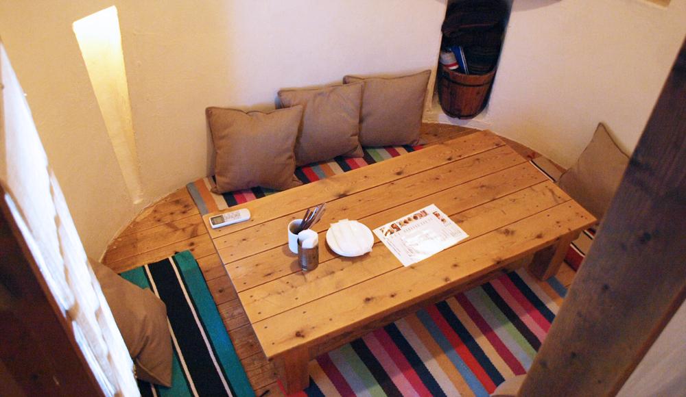 座敷と個室