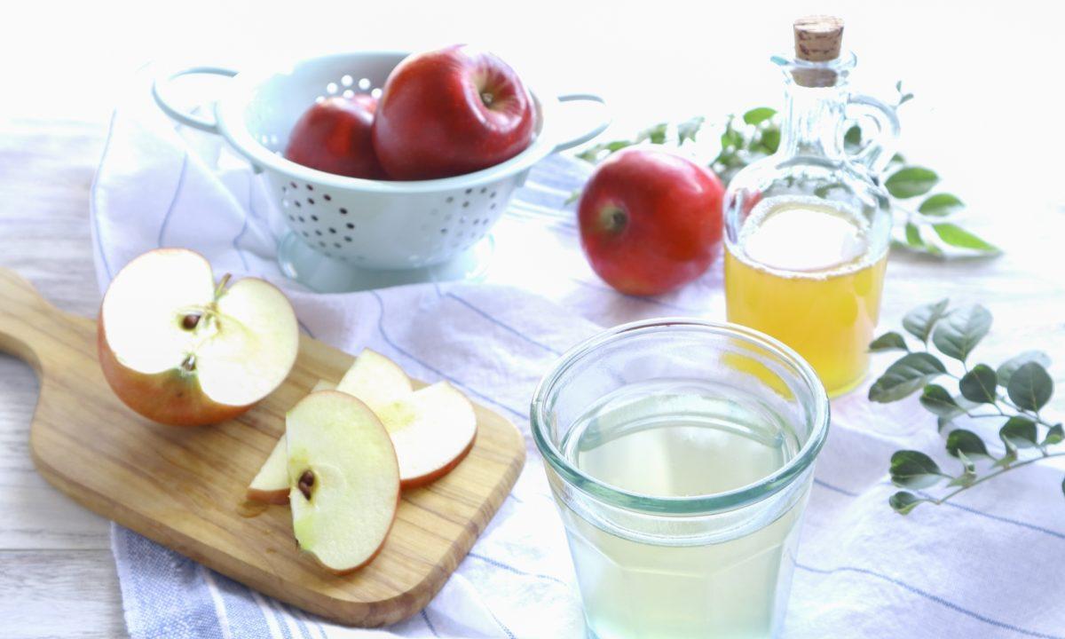 肌にいいりんごの摂り方