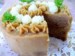 ホワイトソルガムのケーキ(米・小麦・卵・乳なし)