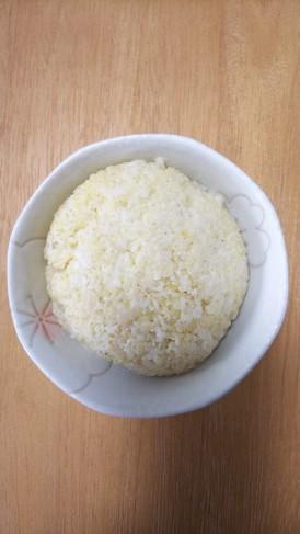 炊飯器で、もちきびの炊き方