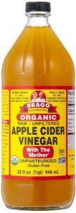 【濃縮タイプ】Bragg オーガニックアップルサイダービネガー 946ml